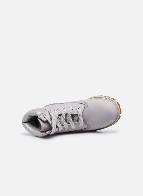 Stiefeletten & Boots Timberland 6 In Premium WP Boot silber ansicht von links