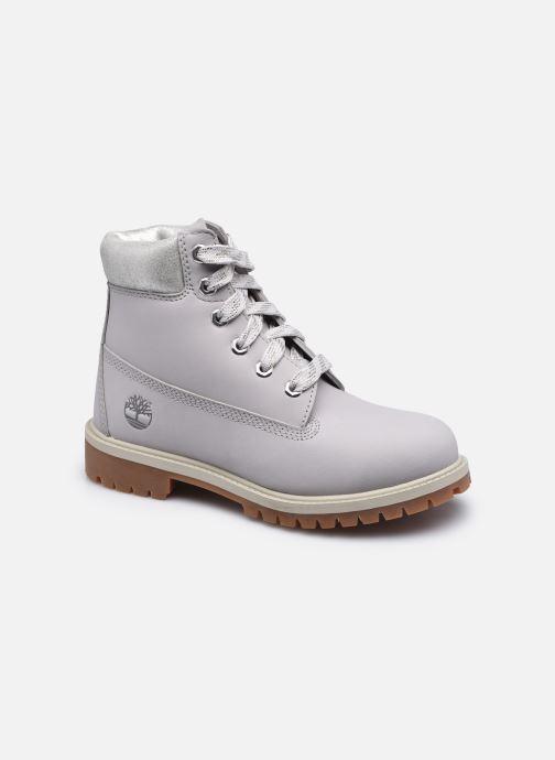 Bottines et boots Timberland 6 In Premium WP Boot Argent vue détail/paire