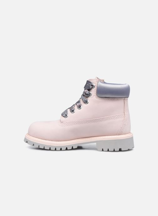 Boots en enkellaarsjes Timberland 6 In Premium WP Boot Roze voorkant
