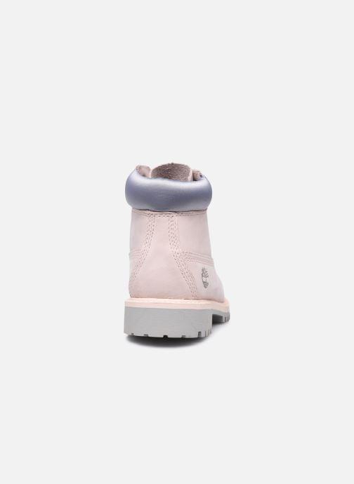 Boots en enkellaarsjes Timberland 6 In Premium WP Boot Roze rechts