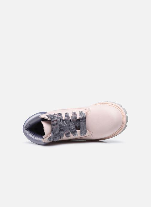 Boots en enkellaarsjes Timberland 6 In Premium WP Boot Roze links