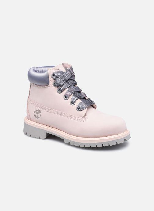 Boots en enkellaarsjes Timberland 6 In Premium WP Boot Roze detail