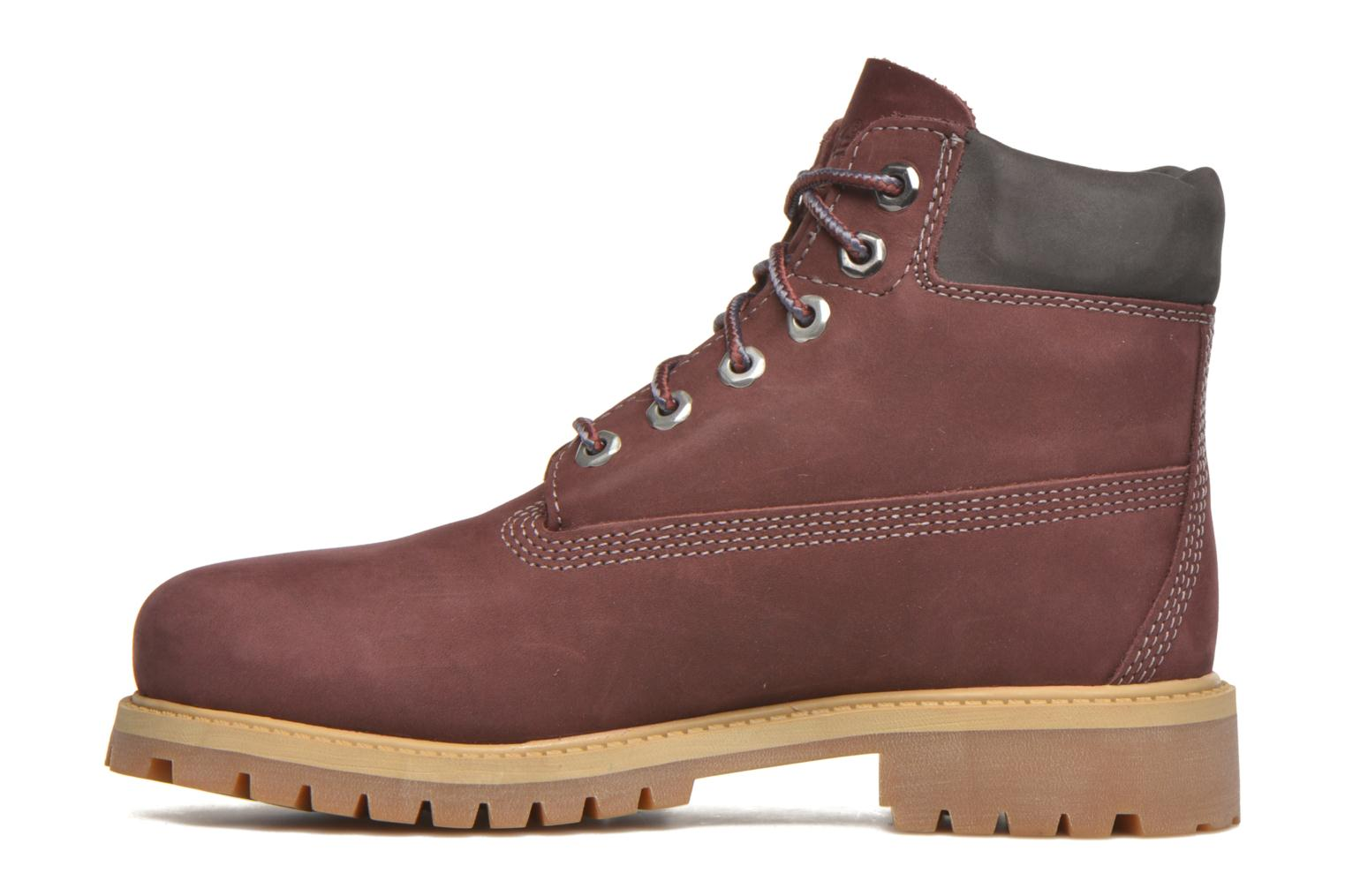 Bottines et boots Timberland 6 In Premium WP Boot Bordeaux vue face