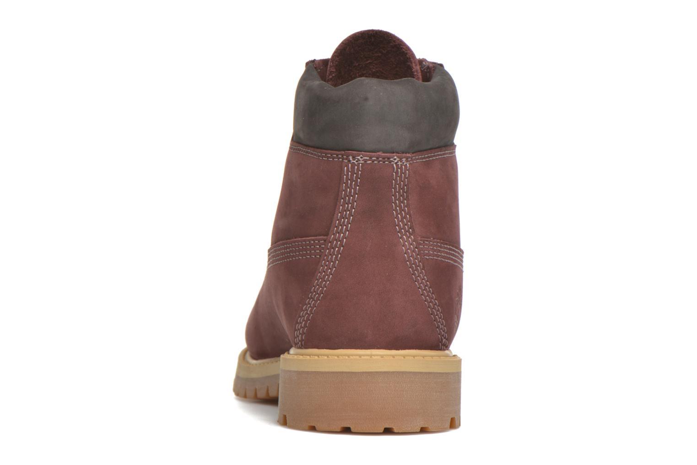 Bottines et boots Timberland 6 In Premium WP Boot Bordeaux vue droite