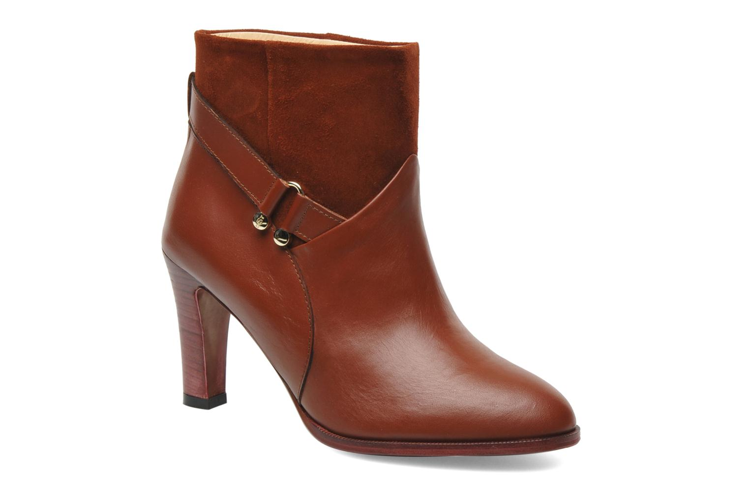 Bottines et boots MySuelly Claude Marron vue détail/paire