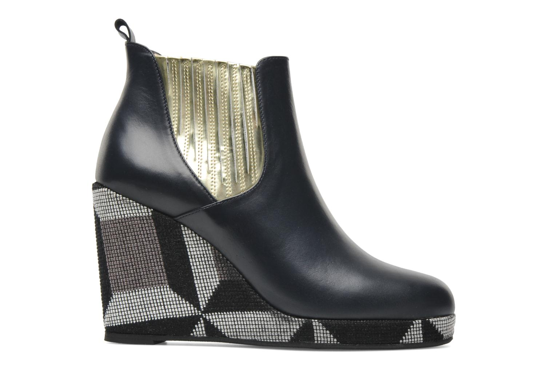 Bottines et boots MySuelly Léon Bleu vue derrière