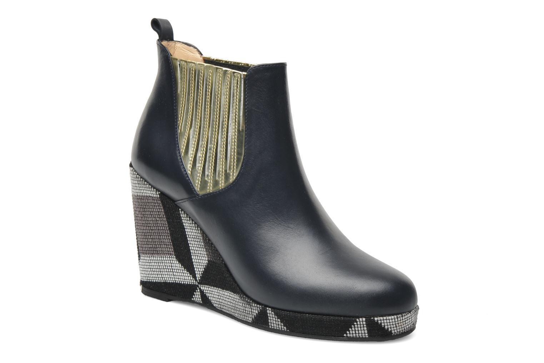 Bottines et boots MySuelly Léon Bleu vue détail/paire