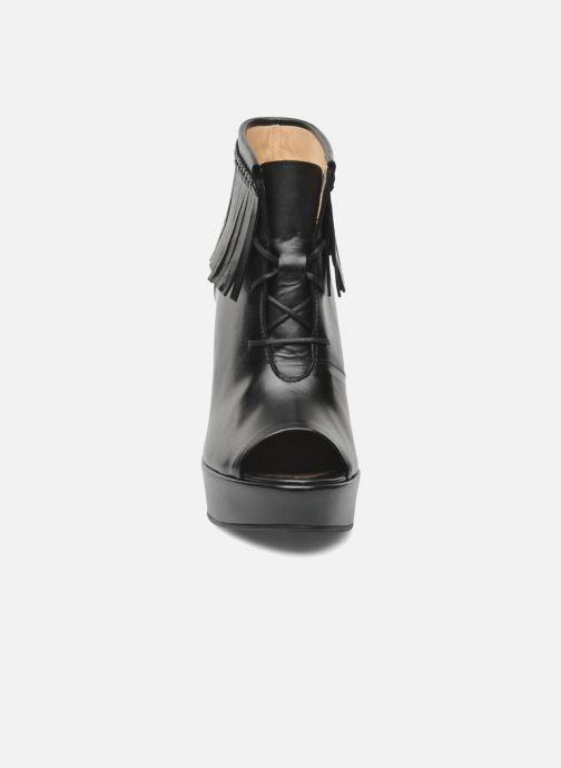 Boots en enkellaarsjes MySuelly Simon Zwart model