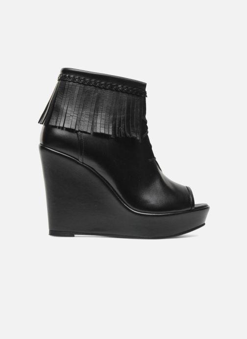 Boots en enkellaarsjes MySuelly Simon Zwart achterkant
