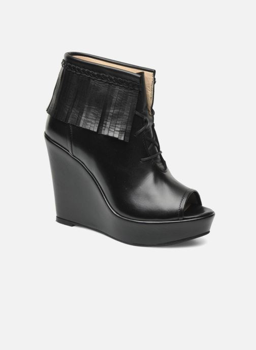 Boots en enkellaarsjes MySuelly Simon Zwart detail