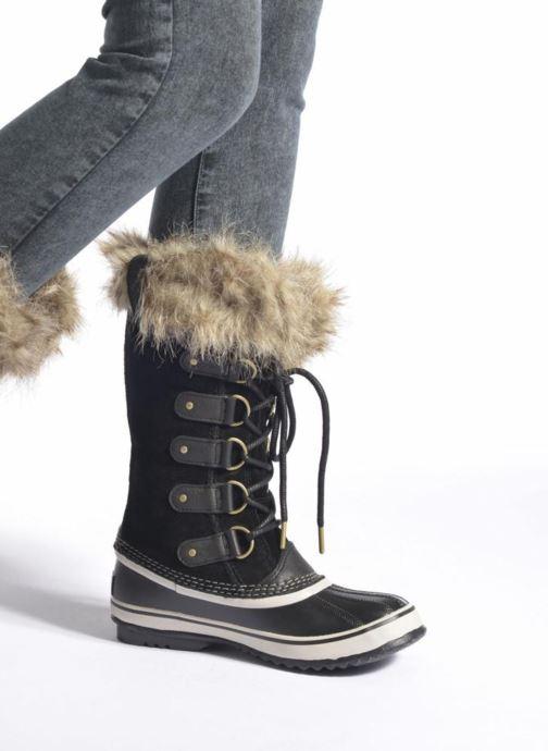 Chaussures de sport Sorel Joan Of Arctic Noir vue bas / vue portée sac