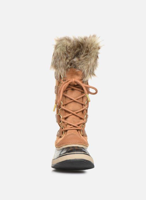 Chaussures de sport Sorel Joan Of Arctic Marron vue portées chaussures