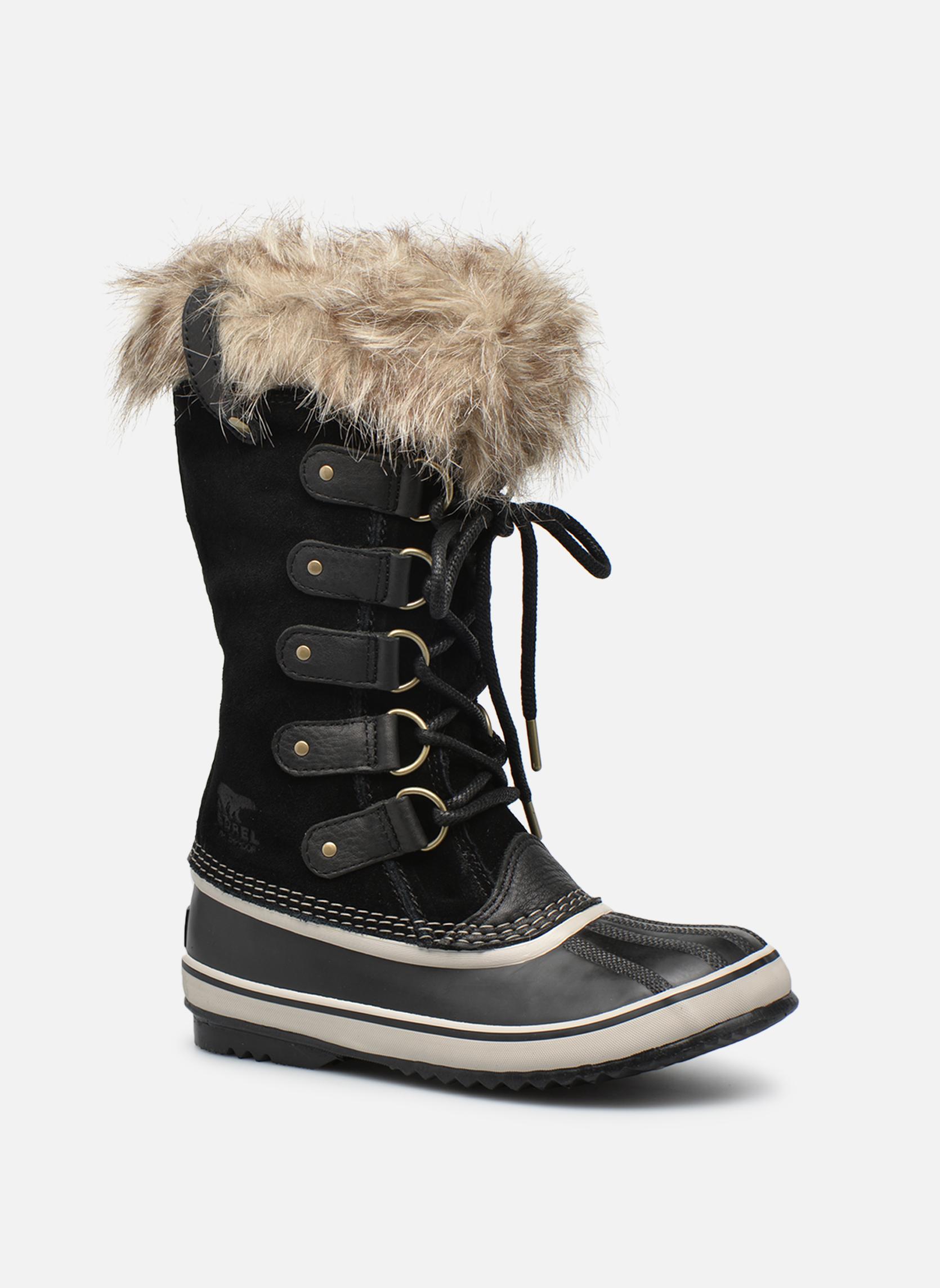3abce3297 Sorel Joan Of Arctic (Noir) - Chaussures de sport chez Sarenza (266416)