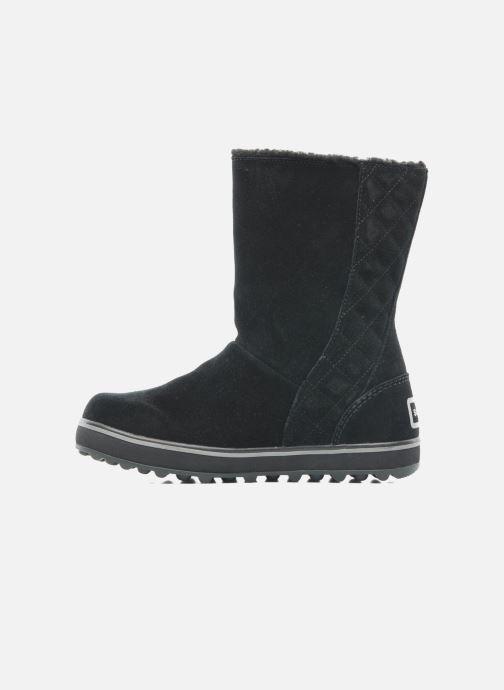 Bottines et boots Sorel Glacy Noir vue face