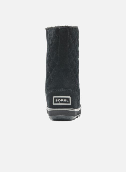 Bottines et boots Sorel Glacy Noir vue droite