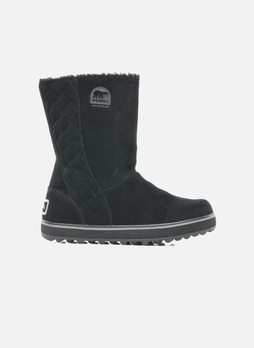 Ankle boots Sorel Glacy Black back view