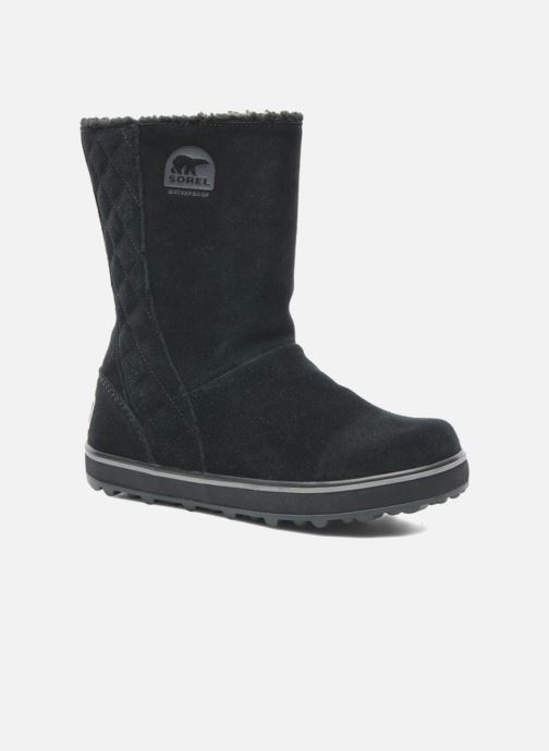 Ankle boots Sorel Glacy Black detailed view/ Pair view