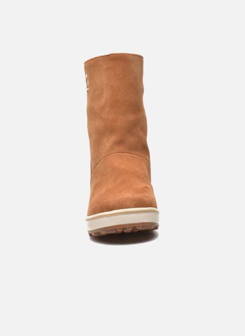 Boots en enkellaarsjes Sorel Glacy Bruin model
