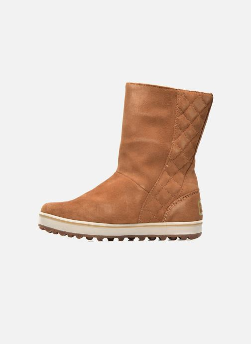 Ankle boots Sorel Glacy Brown front view