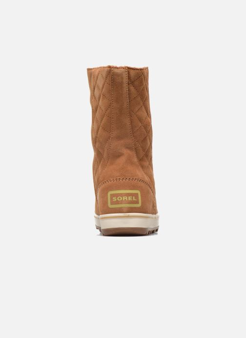 Ankle boots Sorel Glacy Brown view from the right