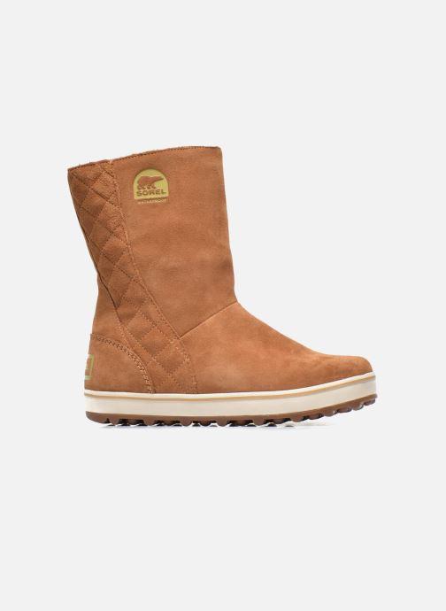 Boots en enkellaarsjes Sorel Glacy Bruin achterkant