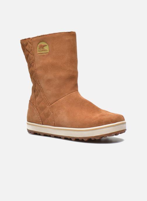 Boots en enkellaarsjes Sorel Glacy Bruin detail