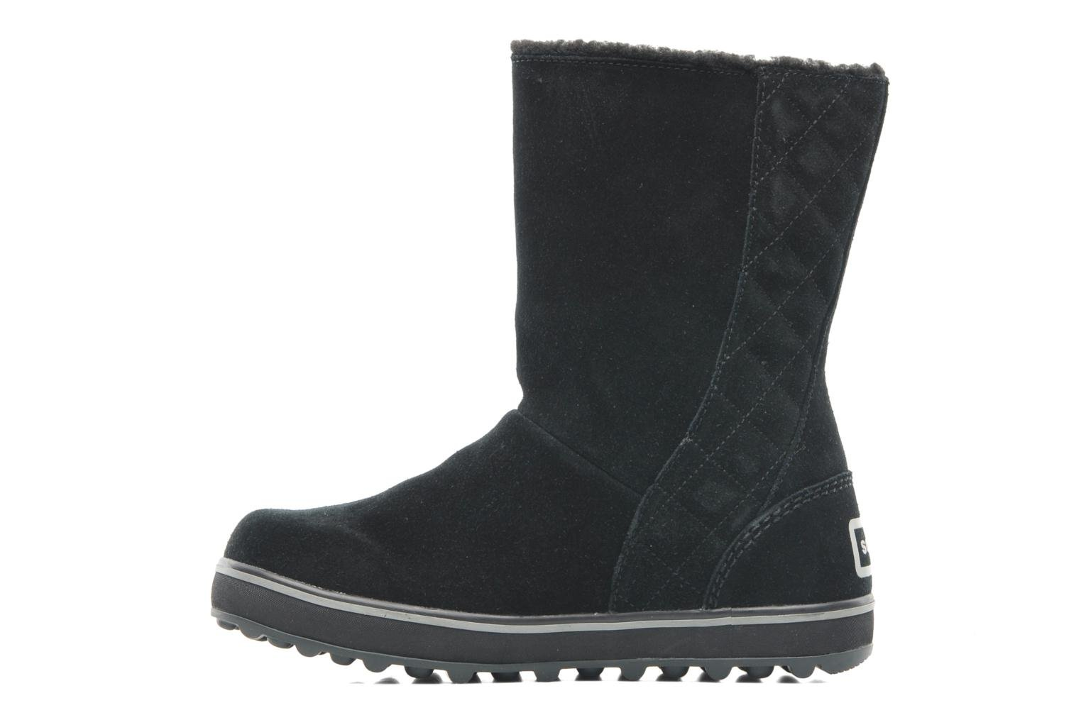 Botines  Sorel Glacy Negro vista de frente