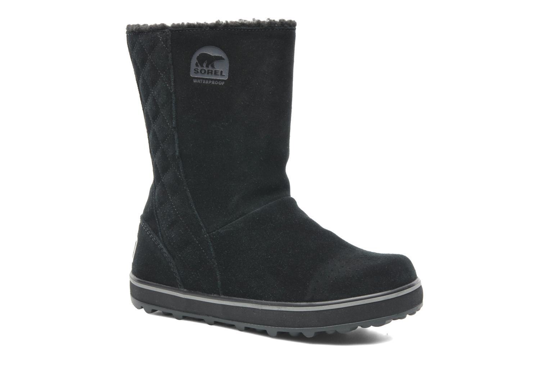 Boots en enkellaarsjes Sorel Glacy Zwart detail