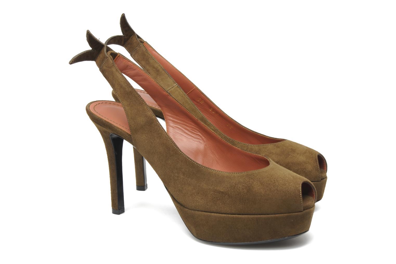 Sandales et nu-pieds Sonia Rykiel Sultan Vert vue 3/4