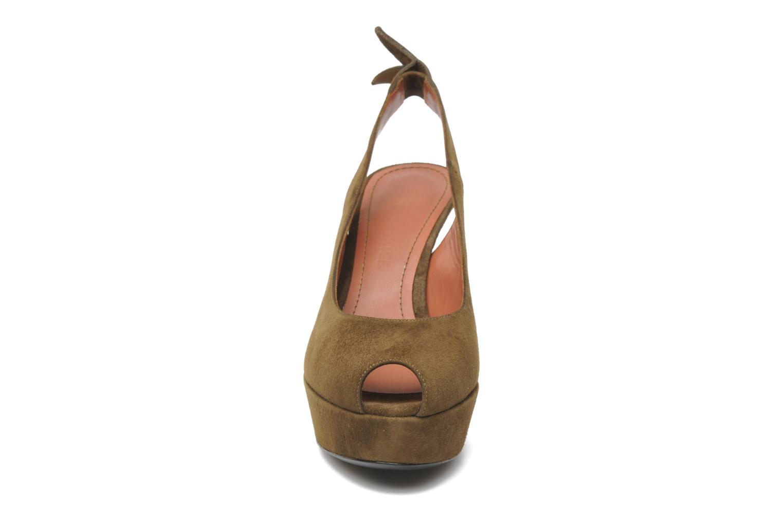 Sandales et nu-pieds Sonia Rykiel Sultan Vert vue portées chaussures