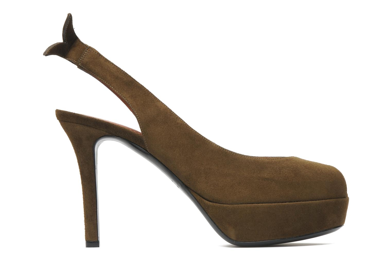 Sandales et nu-pieds Sonia Rykiel Sultan Vert vue derrière