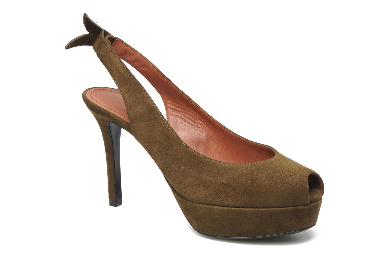 Sandales et nu-pieds Sonia Rykiel Sultan Vert vue détail/paire