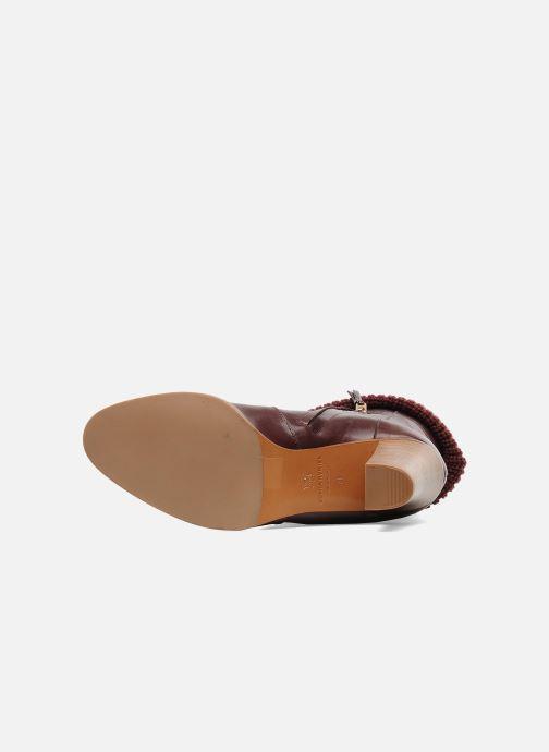 Stiefeletten & Boots Sonia Rykiel Sepia weinrot ansicht von oben