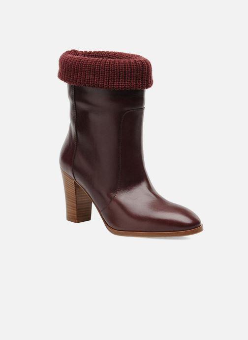 Bottines et boots Sonia Rykiel Sepia Bordeaux vue détail/paire