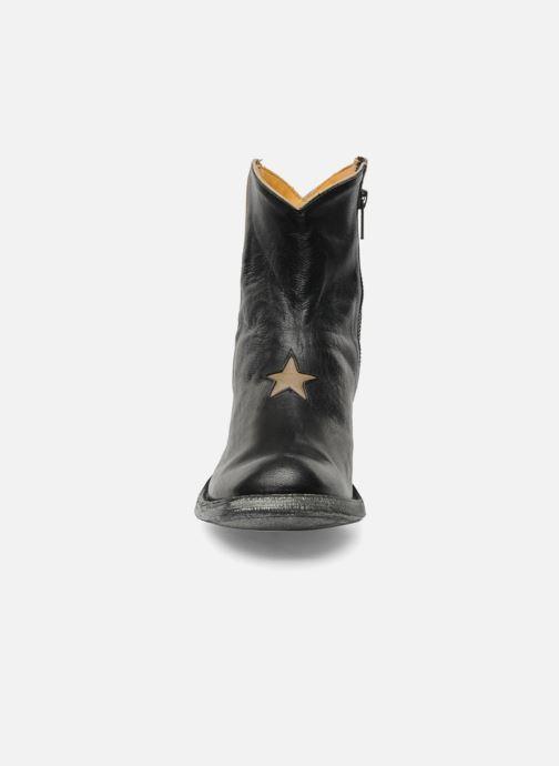 Botines  Mexicana Star Negro vista del modelo