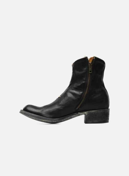 Ankle boots Mexicana Star Black front view