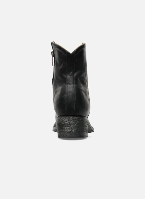 Ankle boots Mexicana Star Black view from the right