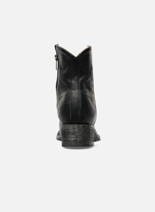 Boots en enkellaarsjes Mexicana Star Zwart rechts