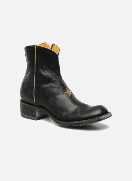 Ankle boots Mexicana Star Black detailed view/ Pair view