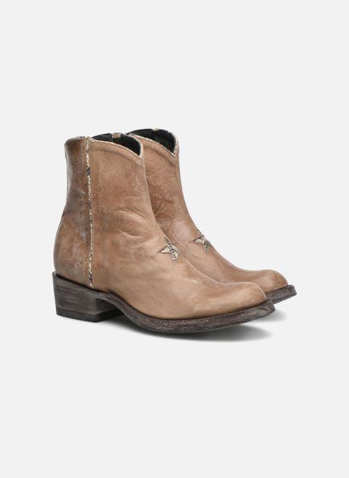 Bottines et boots Mexicana Star Beige vue 3/4