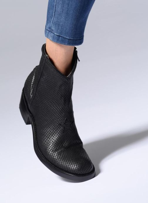 Bottines et boots Mexicana Star Beige vue bas / vue portée sac