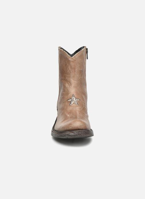 Bottines et boots Mexicana Star Beige vue portées chaussures
