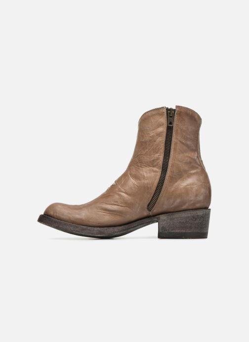 Boots en enkellaarsjes Mexicana Star Beige voorkant