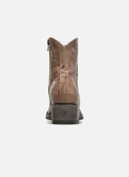 Boots en enkellaarsjes Mexicana Star Beige rechts