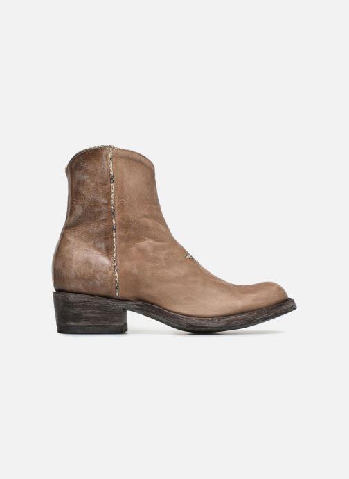 Boots en enkellaarsjes Mexicana Star Beige achterkant