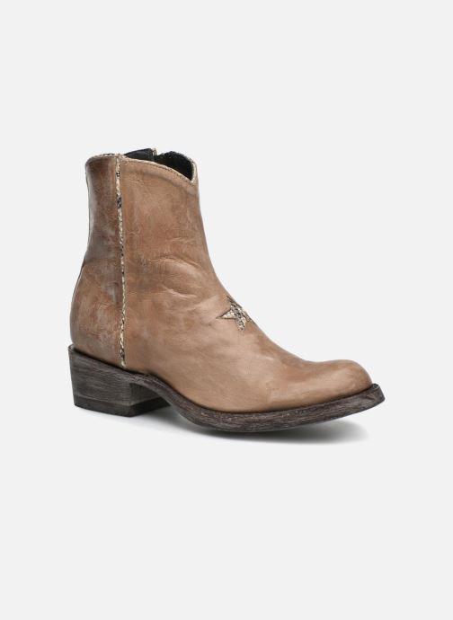 Bottines et boots Mexicana Star Beige vue détail/paire
