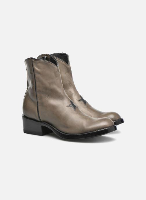 Bottines et boots Mexicana Star Marron vue 3/4