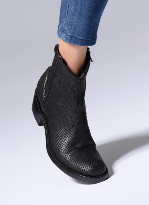 Bottines et boots Mexicana Star Marron vue bas / vue portée sac