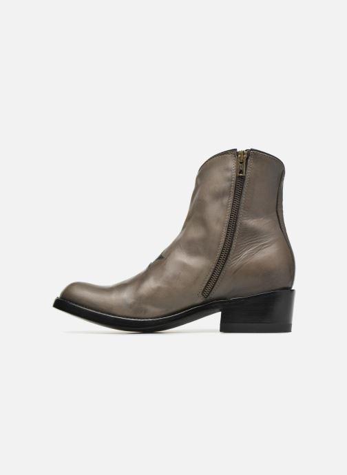 Bottines et boots Mexicana Star Marron vue face