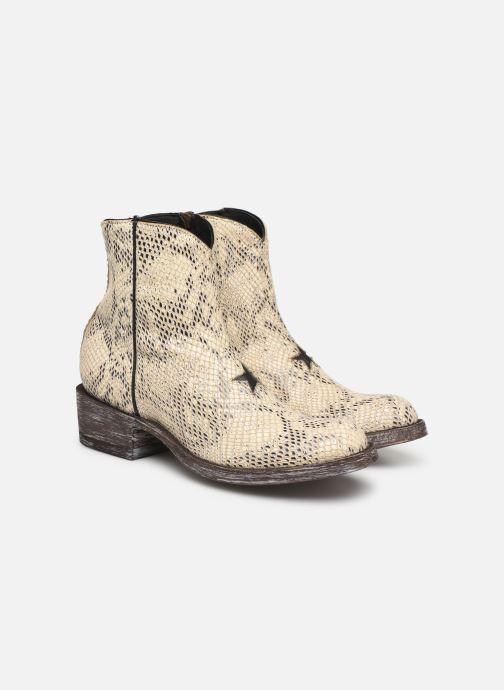 Bottines et boots Mexicana Star Blanc vue 3/4